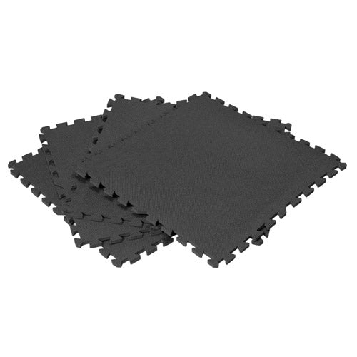 Interlocking Foam Mat Set - Black