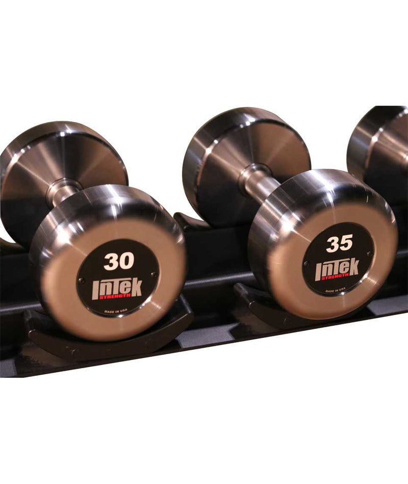 INTEK KRÄFT STEEL RAW DUMBBELL SET