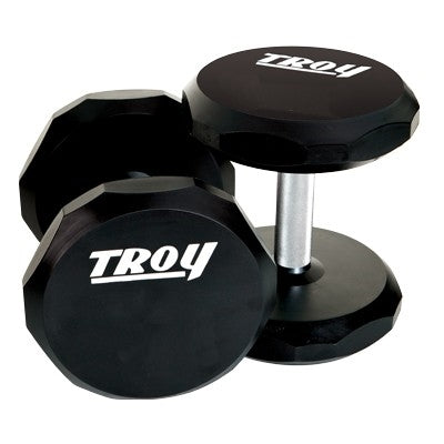 Troy Urethane 12 sided Dumbbells