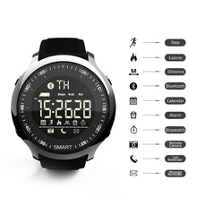 Load image into Gallery viewer, Smart Watch IP68 Waterproof 5ATM Pedometer Message Reminder Long Standby Time Backlight Fitness Tracker Wristwatch Bracelet