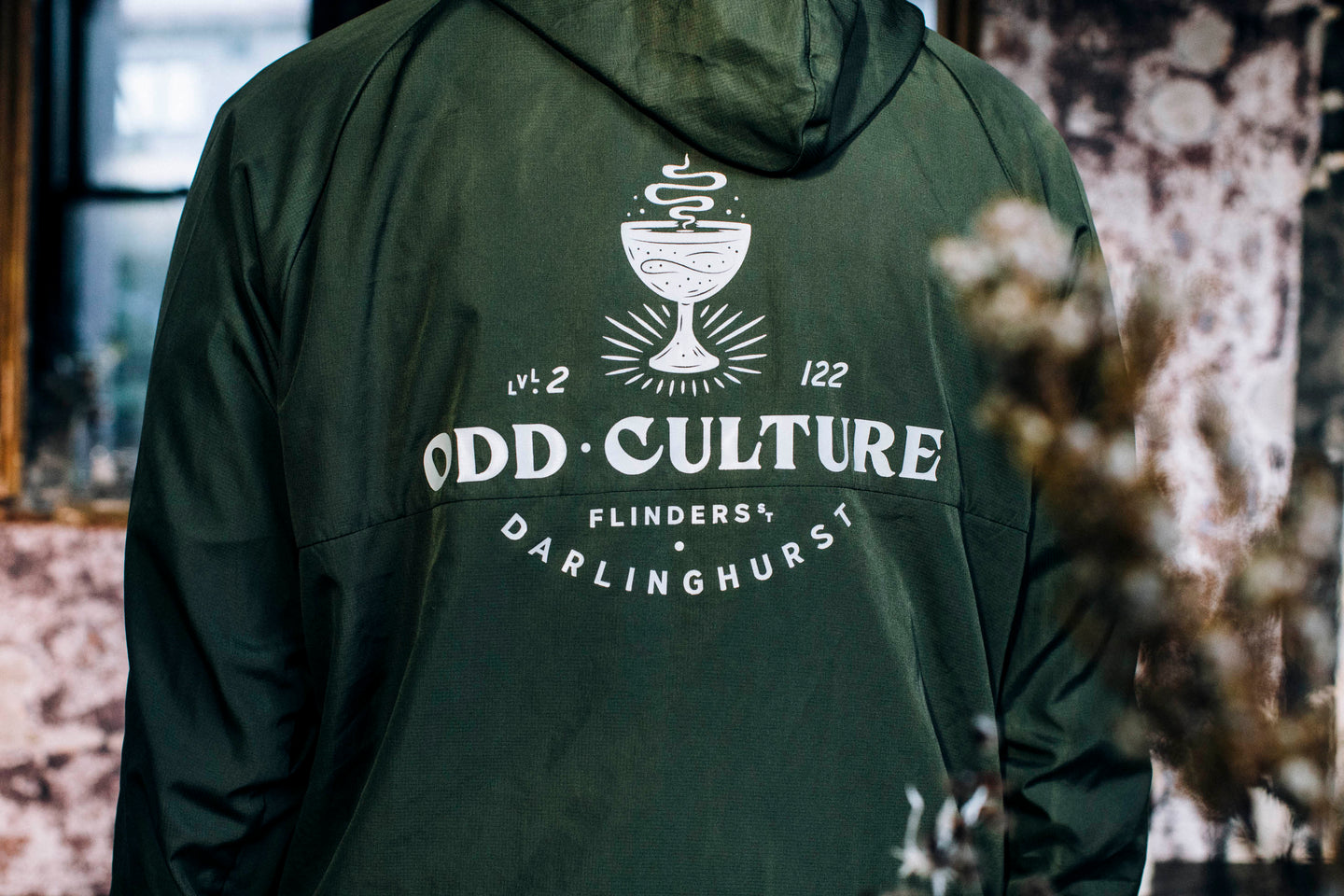 Odd Culture Windbreaker