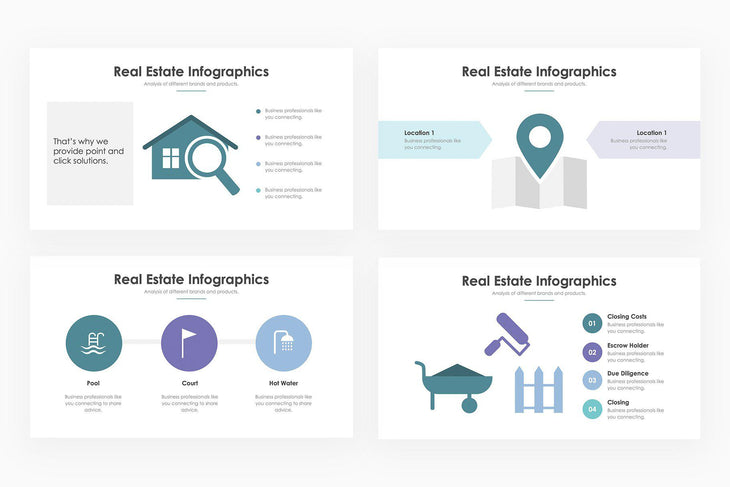 Real Estate Infographics 2 - PowerPoint Template