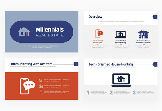Millennials Real Estate Presentation Template