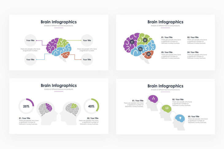Brain Infographics - PowerPoint Template