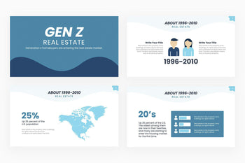 Gen Z Real Estate Presentation Template