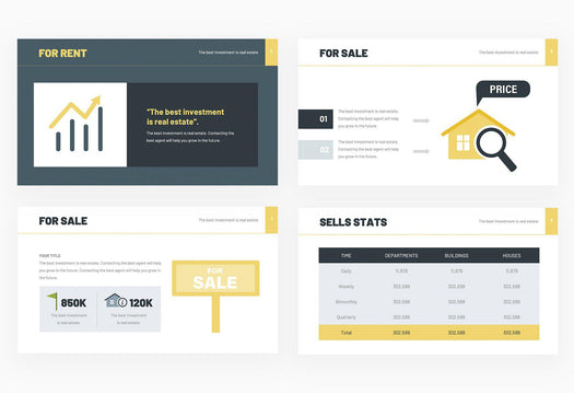 Modern Real Estate Presentation Template