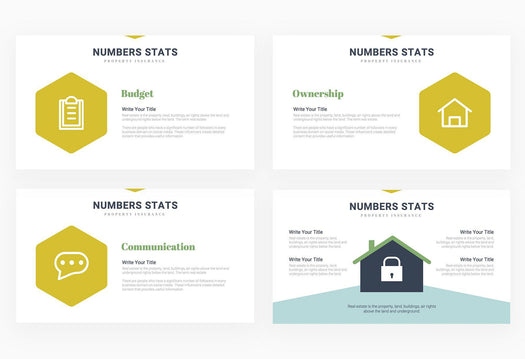 Property Insurance Real Estate Presentation Template