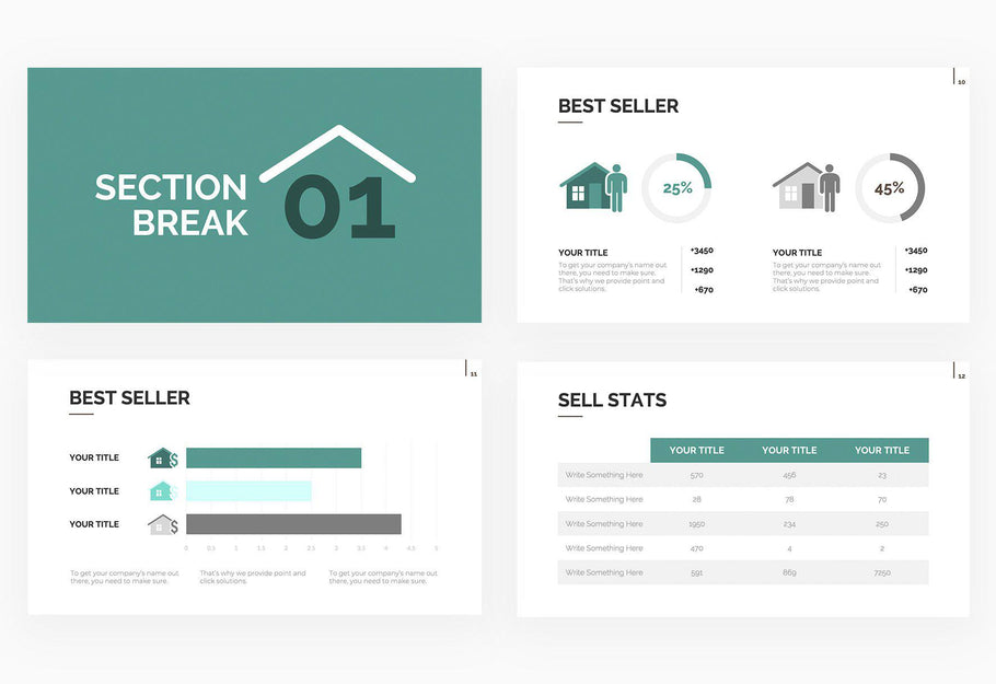 Real Estate PowerPoint and Keynote Template