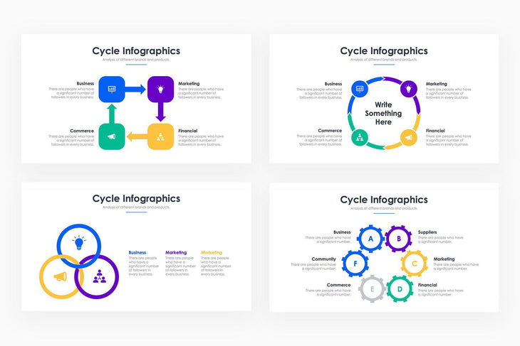Cycle Infographics - PowerPoint Template