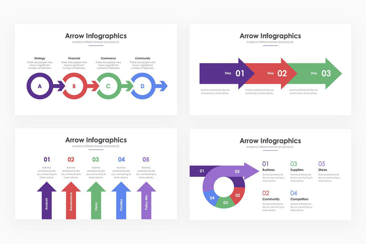 Arrow Infographics - PowerPoint Template