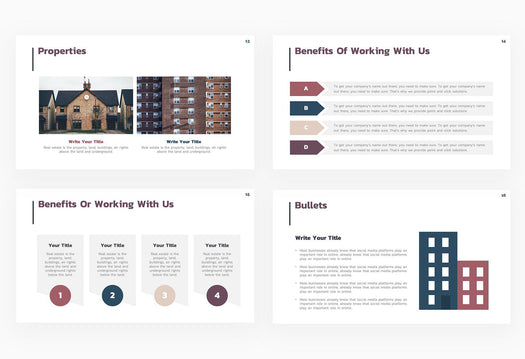 Real Estate Types Presentation Template
