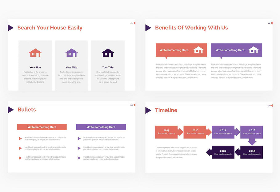 Closing on a House Real Estate Presentation Template