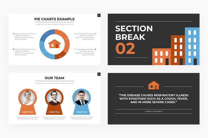 Real Estate Presentation Template