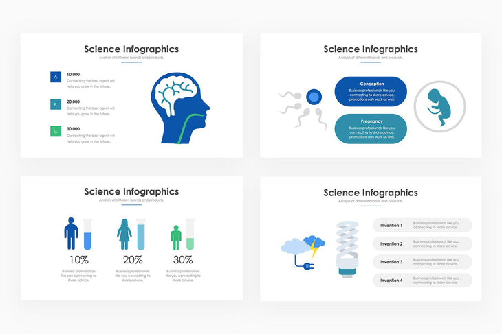 Science Infographics - PowerPoint Template