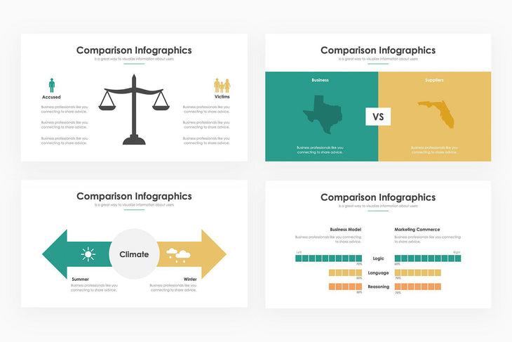 Comparison Infographics - PowerPoint Template