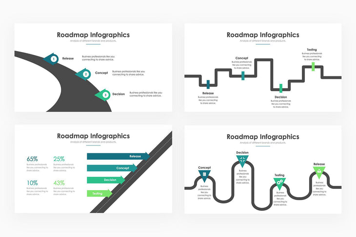 Roadmap Infographics - PowerPoint Template