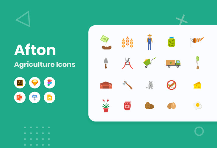 Afton Agriculture Icons