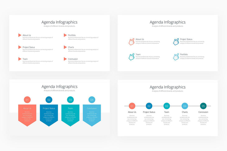 Agenda Infographics - Canva Template