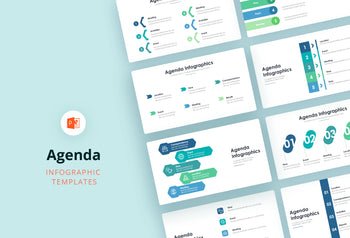 Agenda Infographics 1 - PowerPoint Template