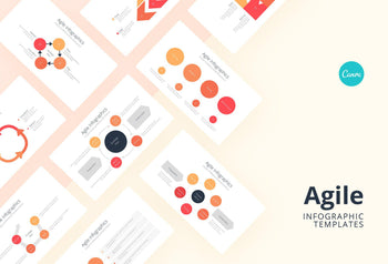 Agile Infographics - Canva Template