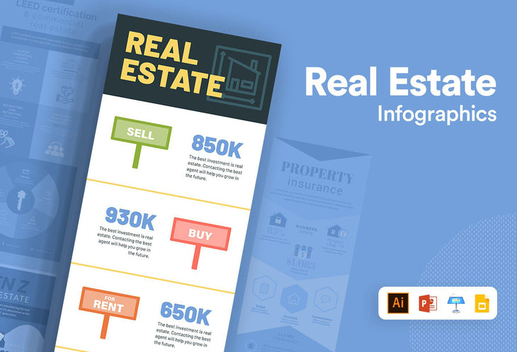 Alfatar Real Estate Infographics Bundle