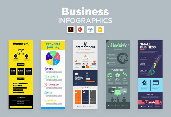 Alpine Business Infographics Bundle