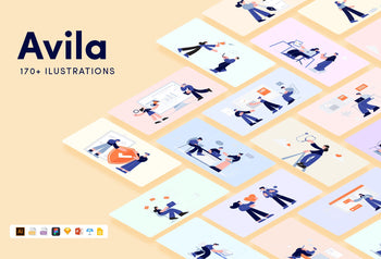 Avila Illustrations Kit