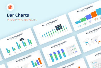 Bar Charts Infographics - PowerPoint Template