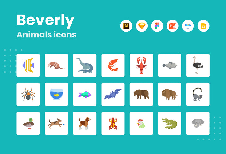 Beverly Animals Icons