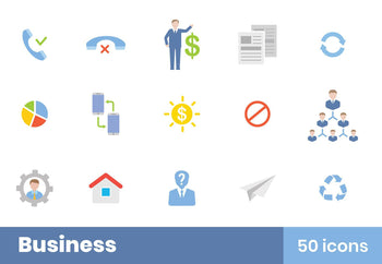 Business Icons Pack 7