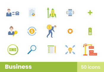 Business Icons Pack 8