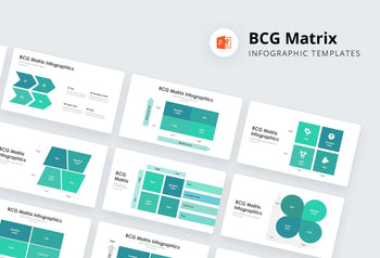 BCG Matrix Infographics - PowerPoint Template