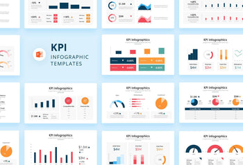 KPI Infographics - PowerPoint Template