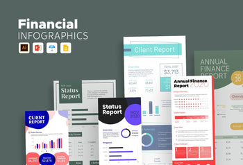 Cannes Finance Infographics Bundle