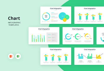 Chart Infographics 3 - PowerPoint Template