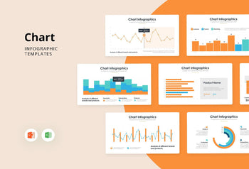 Chart Infographics 5 - PowerPoint Template