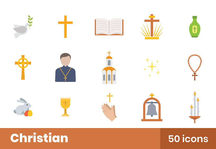 Christian Icons Pack 2