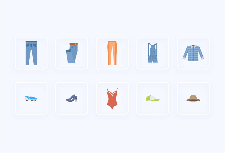 Clothe Items Icons 2