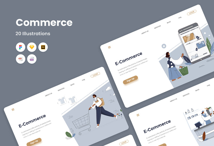 Commerce Illustrations