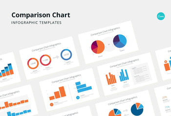 Comparison Chart Infographics - Canva Template
