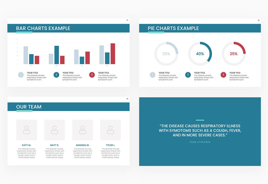 COVID-19 Overview Presentation Template