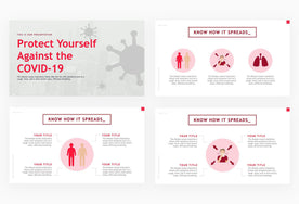 Protect Yourself Against the COVID-19 Presentation Template