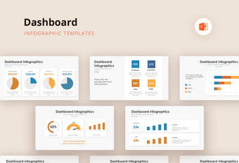 Dashboard Infographics - PowerPoint Template