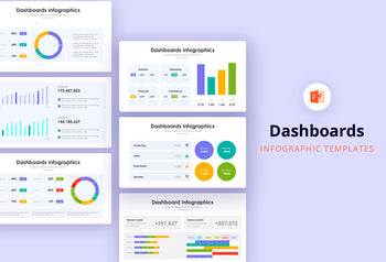 Dashboard Infographics - PowerPoint Template 2