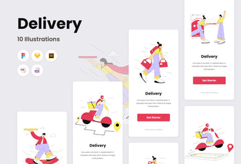 Delivery Illustrations