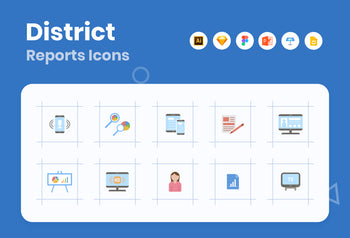 District Reports Icons