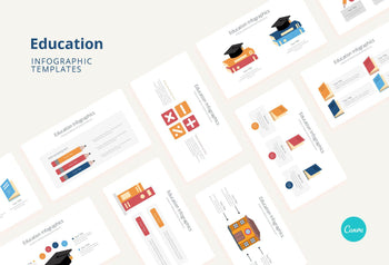Education Infographics - Canva Template