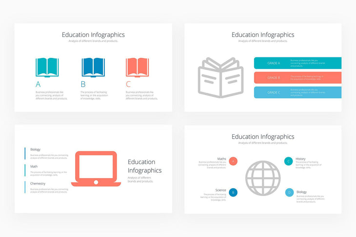 Education Infographics 3 - Canva Template