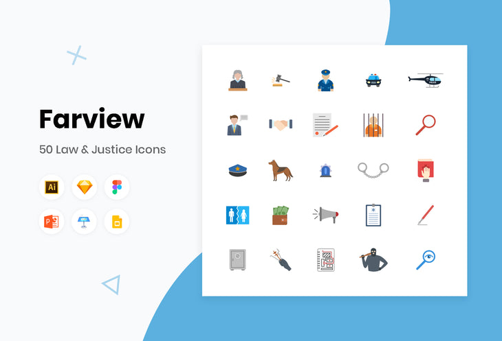Farview Law and Justice Icons