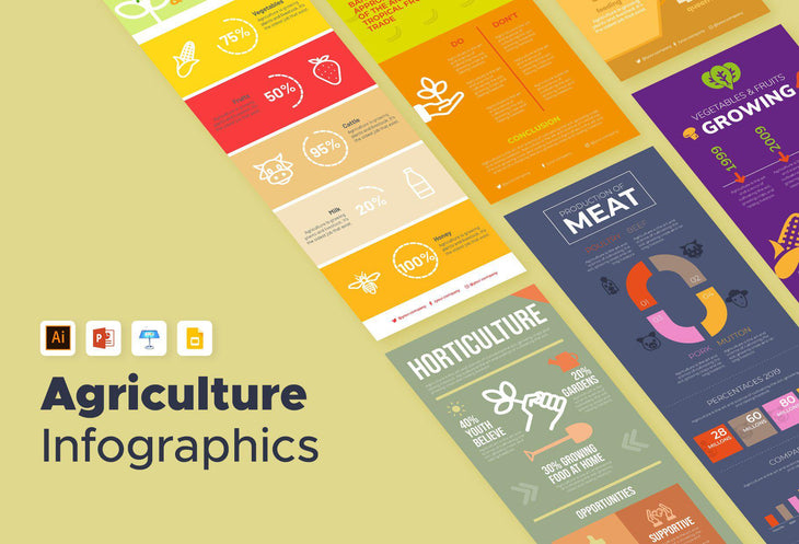 Galway Agriculture Infographics Bundle
